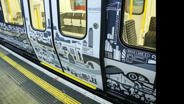 tube, train, london