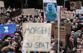 ep fridays for future protest in berlin
