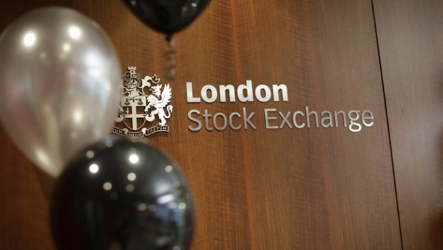 lse london stock exchange balloons