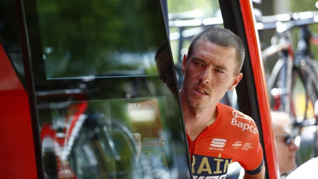 ep rohan dennis aus team bahrain merida during the tourfrance 2019 106th edition 9th stage saint etienne - brioude 170 km on july 14 2019 france - photo kei tsuji bettiniphoto dppi