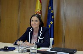 ep la ministra de industria comercio y turismo reyes maroto durante el foro de alto nivel para el