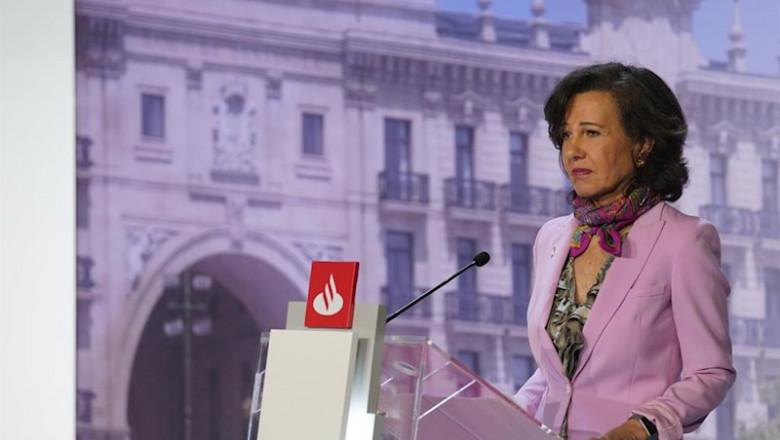 ep la presidenta de banco santander ana botin en la junta general de accionistas 2019