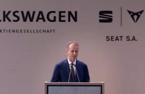 ep el presidente del grupo volkswagen herbert diess