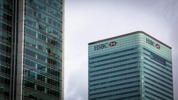 HSBC, London HQ Canary Wharf, banking