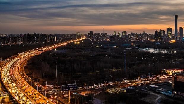 beijing skyline china