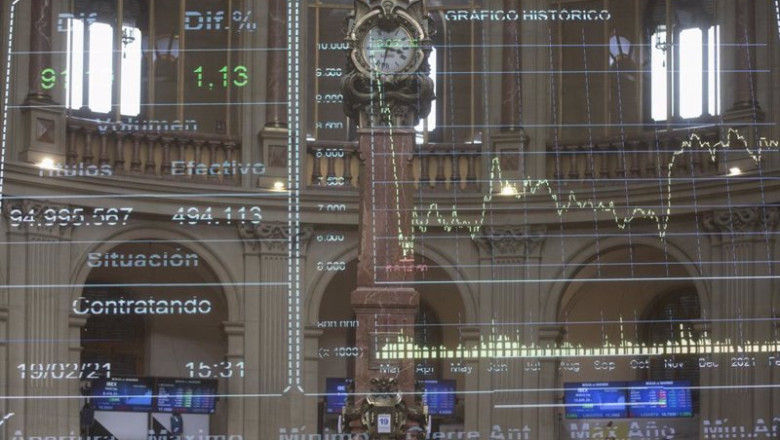 ep valores economicos en el palacio de la bolsa de madrid espana a 19 de febrero de 2021 el ibex 35 20210303175716