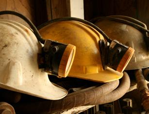 Mining helmets 125