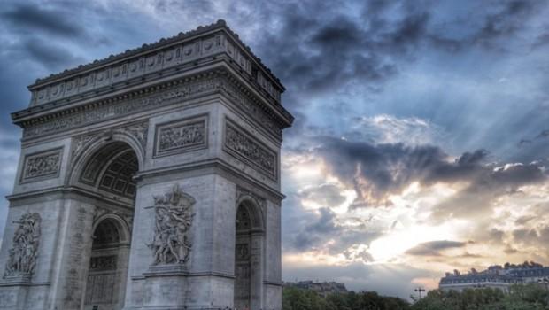 arc de triomphe paris france europe