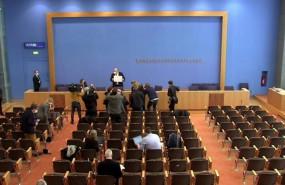 ep el ministro de economia de alemania peter altmaier presenta las nuevas previsiones economicas