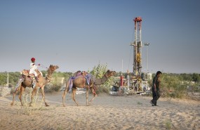 Oil and gas drilling in India