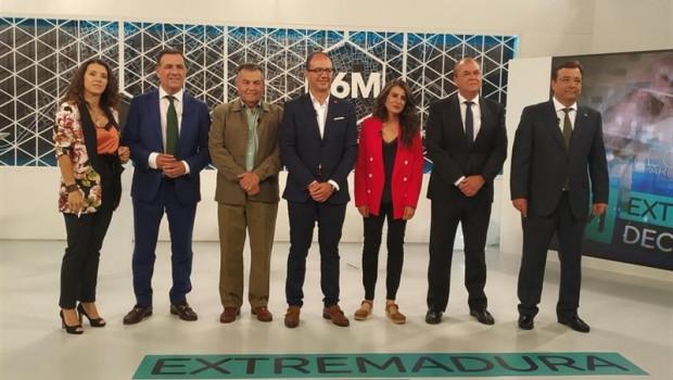 ep 26m- los candidatosla presidenciala juntaextremadura evitan pronunciarsepactos postelectorales