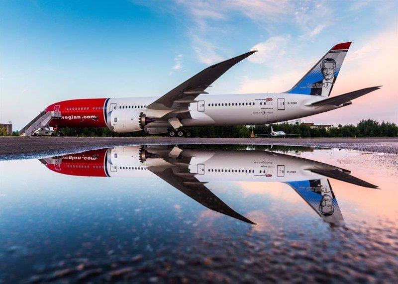 Norwegian transporta un 97% menos de pasajeros en febrero