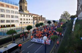 ep marcha de trabajadores de estiba del puerto de bilbao