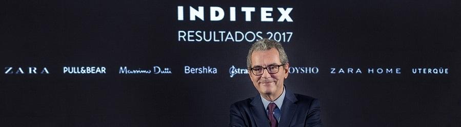 inditex presidente pablo isla resultados 2017 portada