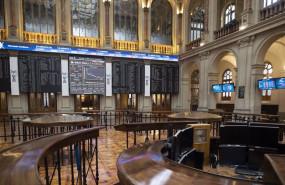ep archivo - interior del palacio de la bolsa en madrid espana