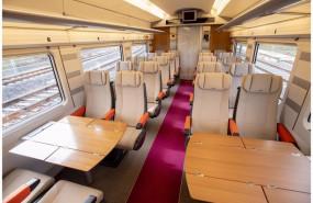 ep archivo - interior del avlo el tren ave low cost de renfe