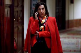 ep la ministra de defensa margarita robles a su llegada al congreso de los diputados en madrid