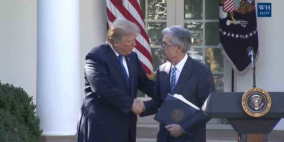 donald-trump-et-jerome-powell-nouveau-president-de-la-fed