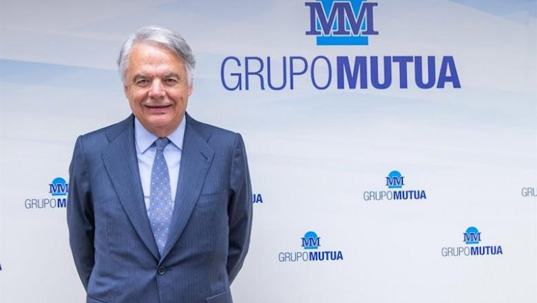 ep el presidente de grupo mutua madrilena ignacio garralda en la presentacion de resultados de 2019
