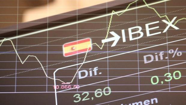 ep valores del ibex 35 en la bolsa de madrid espana a 10 de noviembre de 2020