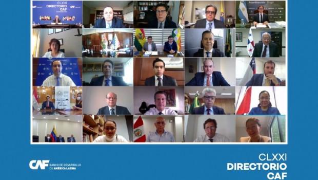 ep archivo - reunion del directorio de caf el banco de desarrollo de america latina