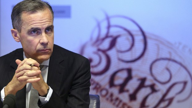 mark carney governor bank of england