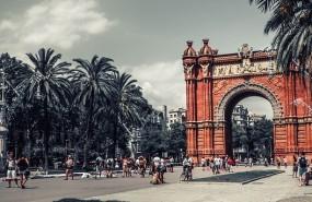 barcelona arco ciudad portada