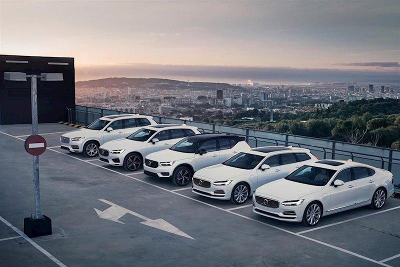 ep gama de modelos de volvo cars