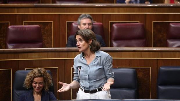 La ministra Ribera asegura que el diésel