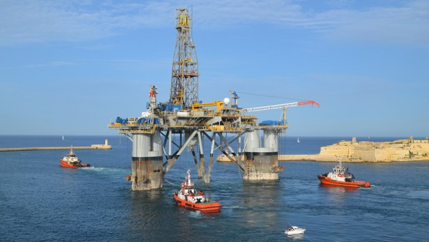 Genel Energy rig, oil & gas