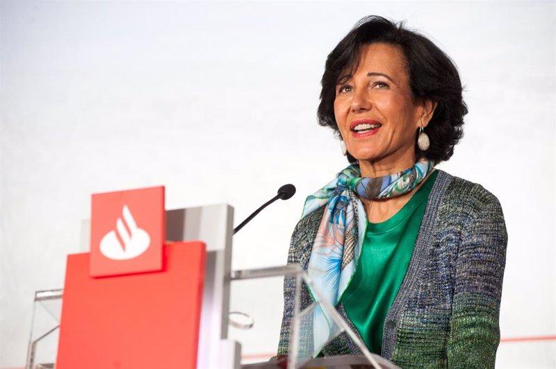 Santander pasa olímpicamente de la corrección general del mercado