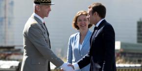 general-francois-lecointre-chef-d-etat-major-des-armees-florence-parly-ministre-des-armees-emmanuel-macron-president-de-la-republique
