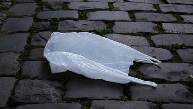 bolsa plastico blanca
