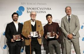 ep los premios sport cultura barcelona galardonanmarc marquez rosaliajordi alum