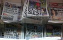 newspaper newsstand media england uk star sun mirror express daily independent guardian