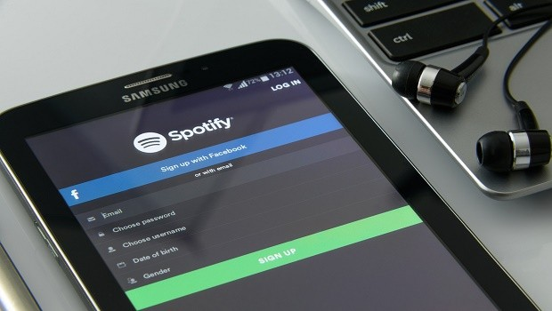 spotify streaming musica espana
