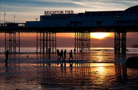 Brighton Pier by Valcker (Flickr)