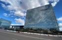 ep archivo - edificio donde se encuentra la sede de telefonica ubicada en ronda de la comunicacion