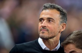 ep luis enrique head coach of spain during the uefa nation league