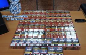 ep tabaco intervenido a los detenidos y destinado a la venta ambulante