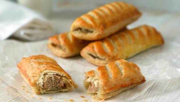 food sausage roll greggs