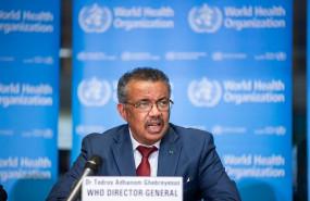 ep el director general de la organizacion mundial de la salud oms tedros adhanom ghebreyesus en