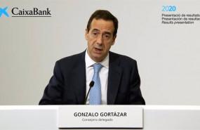 ep el consejero delegado de caixabank gonzalo gortazar durante la presentacion de los resultados de 20210129104510