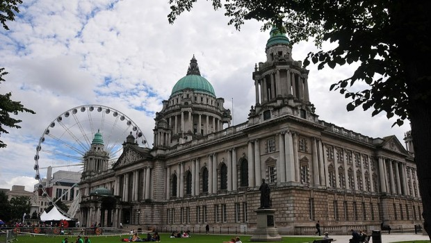 belfast city hall northern ireland