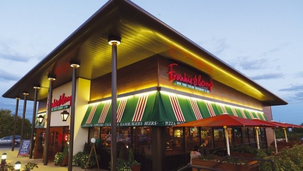 restaurant group frankie bennys