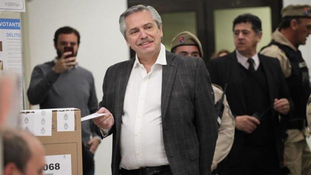 ep candidatola presidenciaargentina alberto fernandez