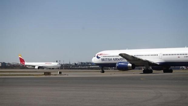 ep iberia british airways aeropuertobarajas avion aviones