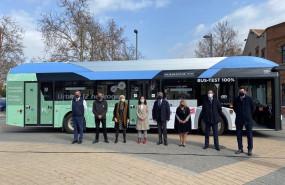 ep presentacion del autobus propulsado por hidrogeno en madrid