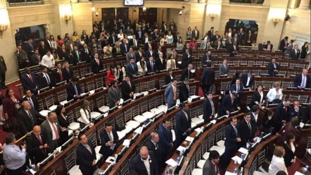 ep archivo   congreso de colombia durante homenaje en el dia nacional de la memoria y la solidaridad
